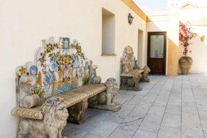 Villa Lampedusa Panchine